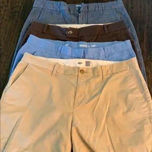 Lot of shorts Gap, Old Navy, Dockers
